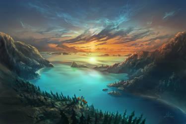 Just Below Horizon
