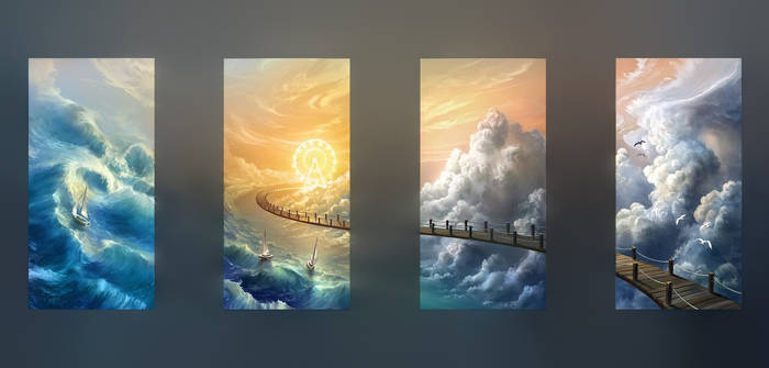 Sky Bridge to the Wheel of Sun