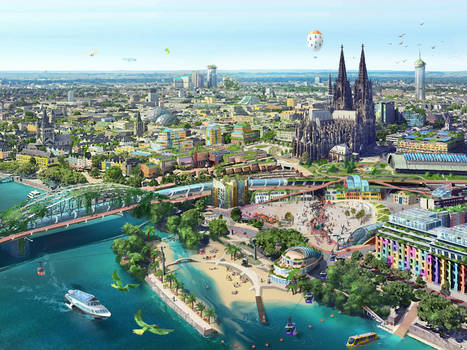 City of Cologne in the future