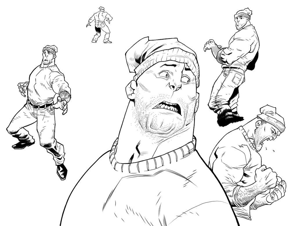 Ink Practice #2 by mspawa