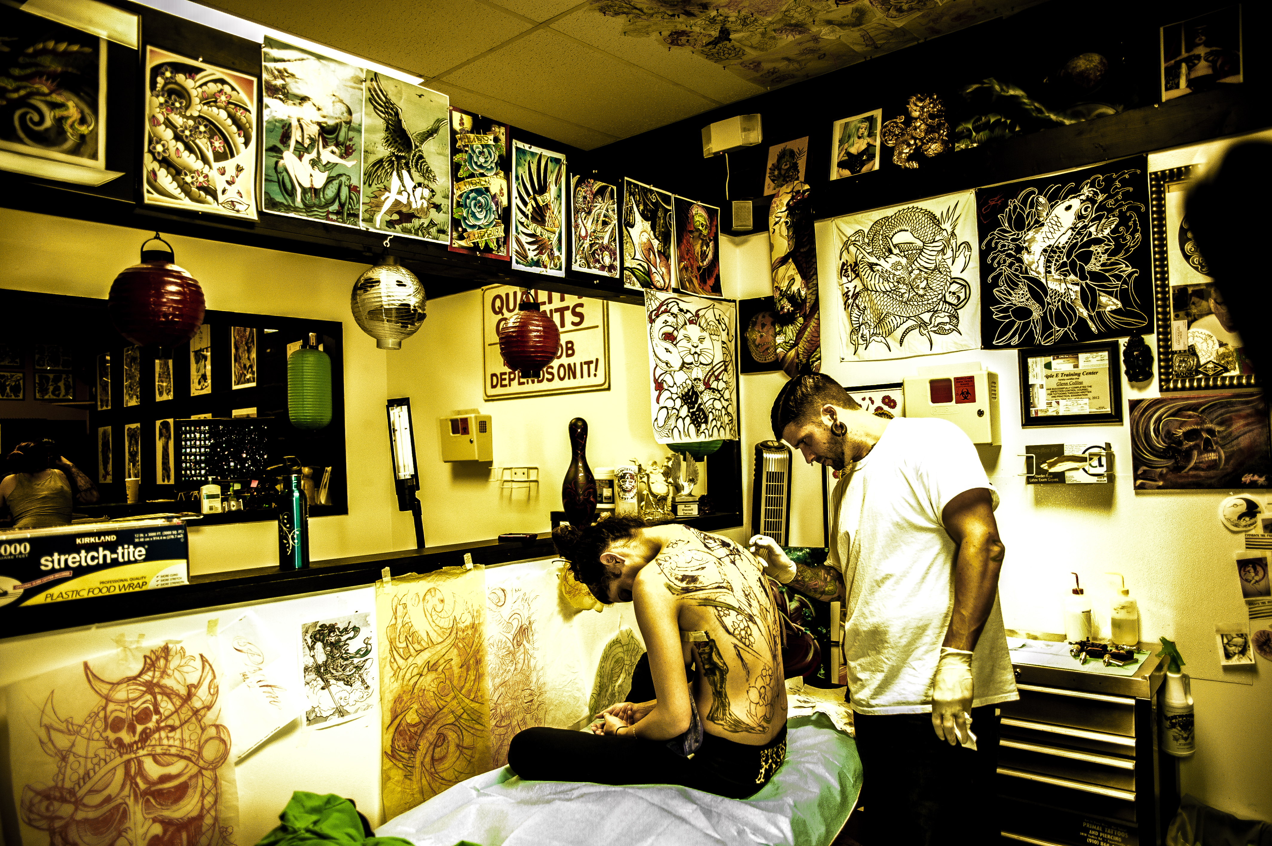 Tattoo environment! by dennissloan21