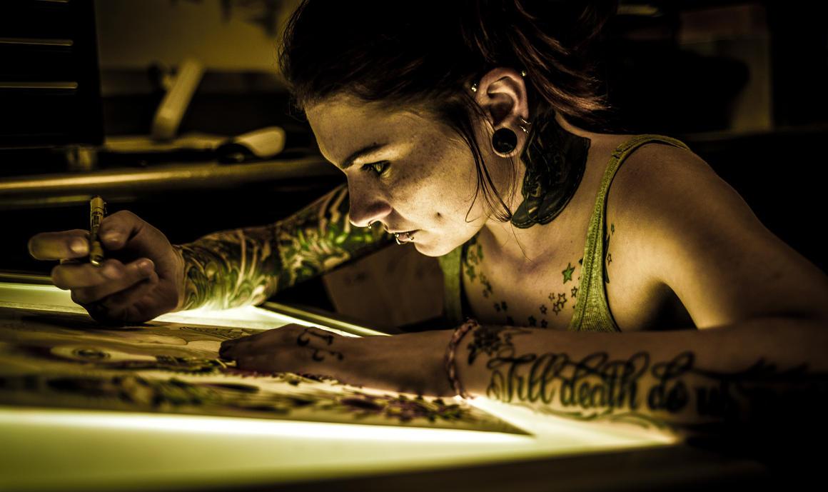 Tattoo sketch by dennissloan21