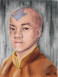 Art Academy: Avatar Aang by napalmnacey