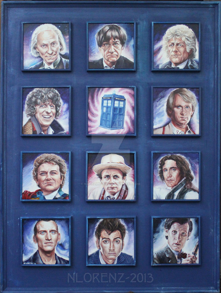The Doctors and the TARDIS: 50th Anniversary