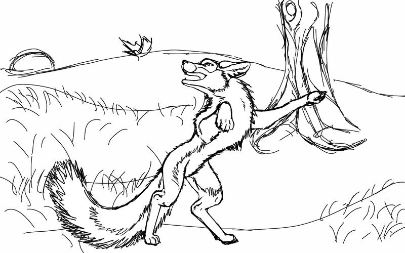 Happy Silver Foxie... *WIP* by UndeniableGuile