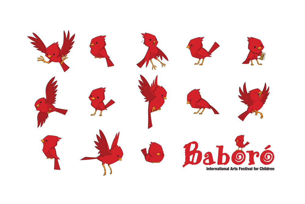 New Baboro logo and mascot by morganobrienart