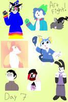 Art Fight Day 7 by shinjakamaroo