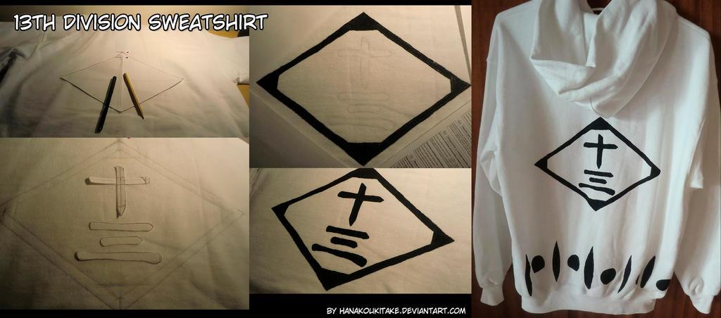 13th Division sweatshirt by HanakoUkitake