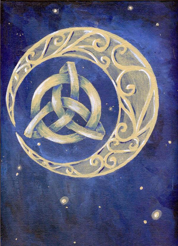 Celtic Moon by xlizx on DeviantArt