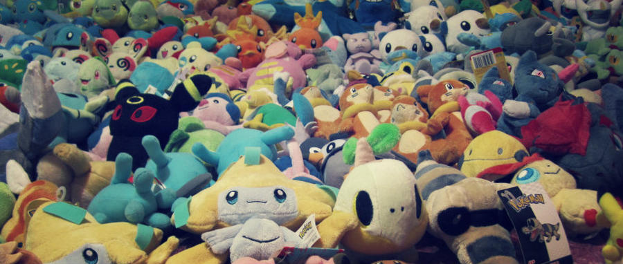 A sea of pokemon plush ~ by Magikarpette
