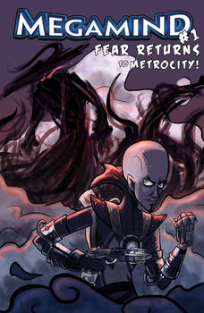 Megamind Fancomic Issue 1 Cover