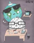 Homework is for space geeks