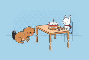 Beavers ruin Birthdays by randyotter