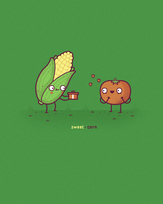 Sweet corn by randyotter