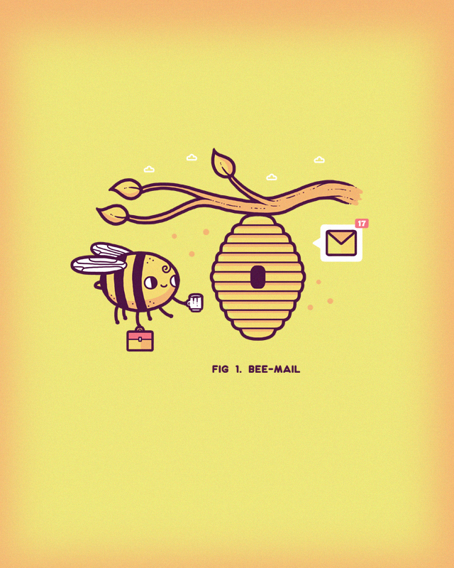 Bee mail by randyotter