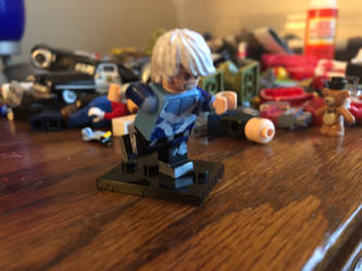Lego Quicksilver (Age of Ultron) by ChaseSplatoon123