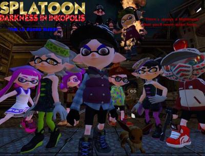 Splatoon: Darkness in Inkopolis Official Poster by ChaseSplatoon123