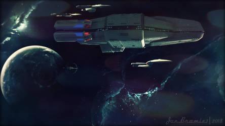 Departing Fleet by jonbromle1