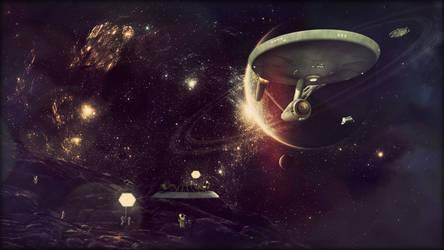 Star Trek The Original Series by jonbromle1