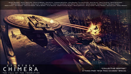 Star Trek: Chimera - The Fall of the Federation by jonbromle1