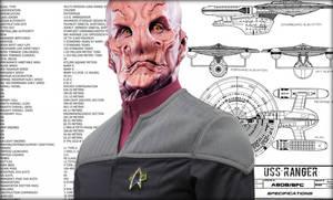 Captain Narru - USS Ranger by jonbromle1