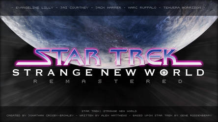 Star Trek: Strange New World - Remastered by jonbromle1