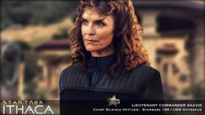 Star Trek: Ithaca - Lt. Commander Saavik