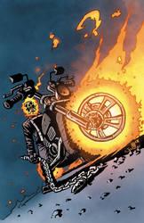 Johnny Blaze - Ghost Rider by nkellynk28