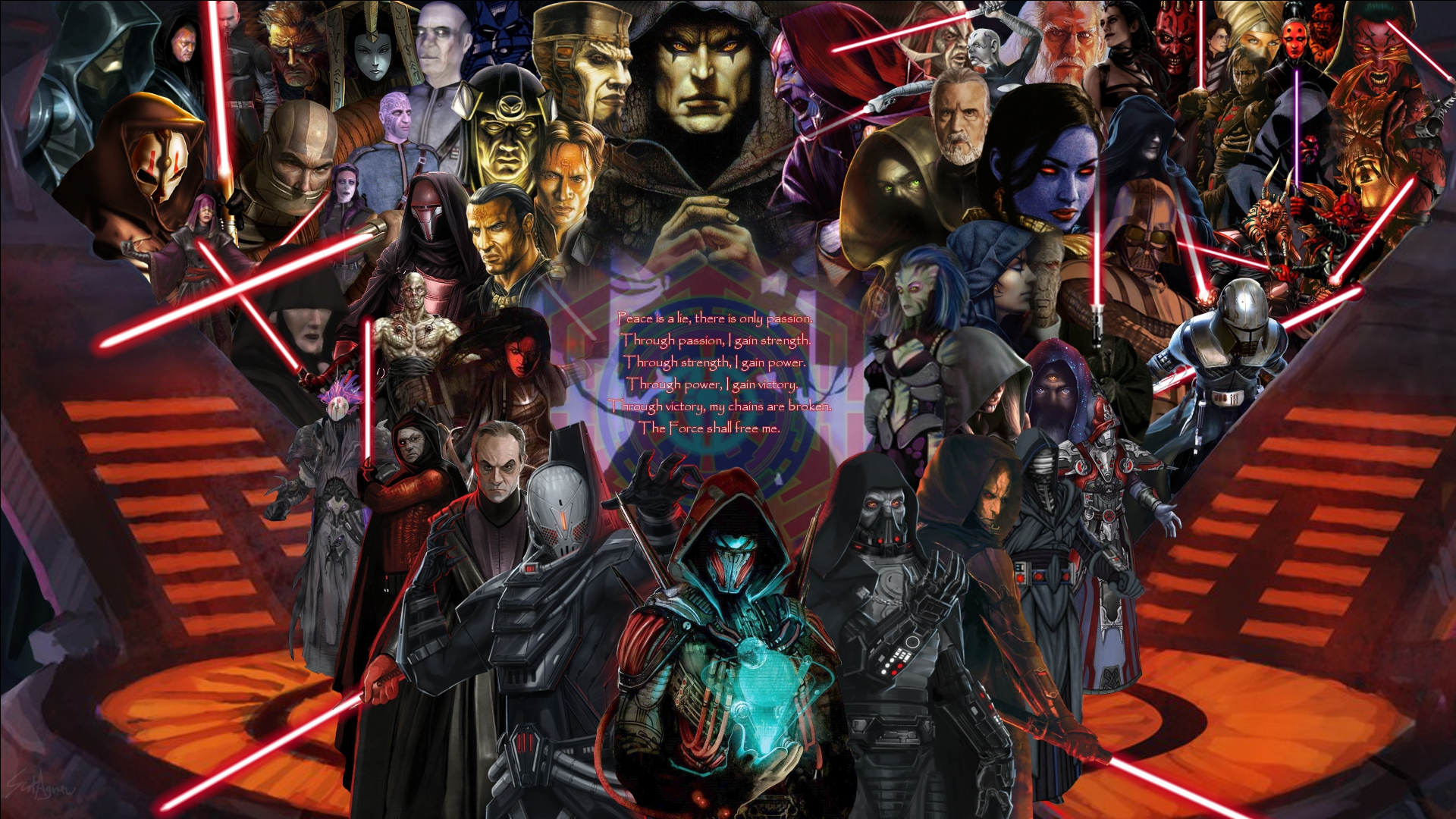 Disciples of the Sith by ScotUK101