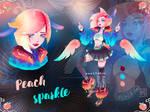 [CLOSED] ADOPT - PEACH SPARKLE by AnastasiaYass