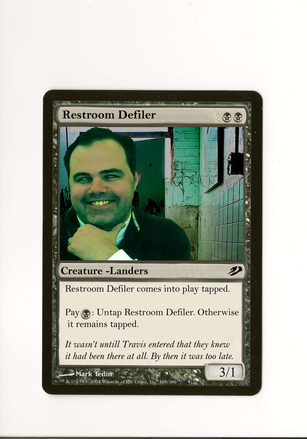 Restroom defiler by enigmatic-designs