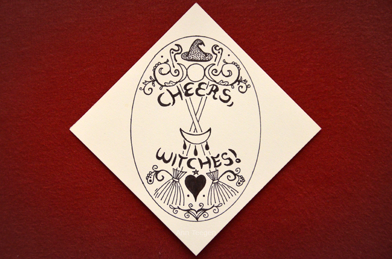 CHEERS, WITCHES! by Bittersuesz