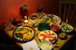 Beltane Feast by Bittersuesz