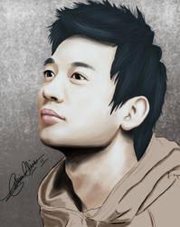Minho digital painting. by kelv89