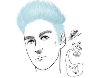 T.O.P sketch. by kelv89