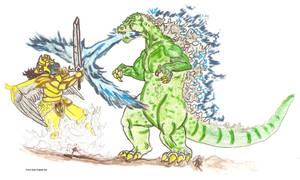 Godzilla vs. Goldar