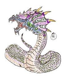 King Cobra by kaijulord21