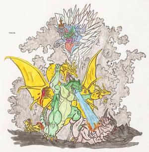 Almighty Kaiju war