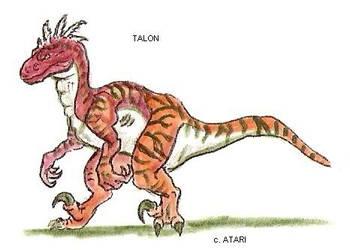 Talon by kaijulord21