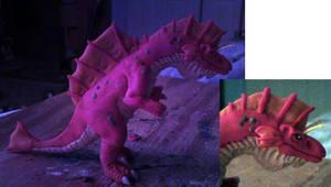 Titanosaurus figure by kaijulord21