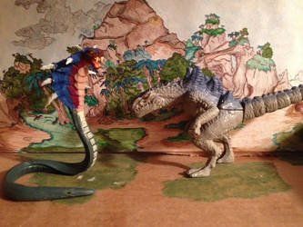 King Cobra, Zilla the series figure by kaijulord21