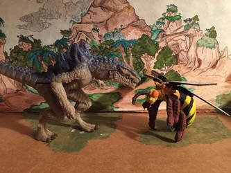 Queen Bee, Zilla the series figure by kaijulord21