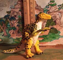 Avarusaurus figure by kaijulord21