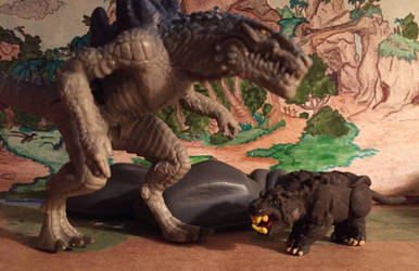 Giant Rat, Zilla the series figure 1 by kaijulord21