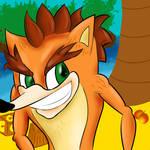 Crash Bandicoot Returns.
