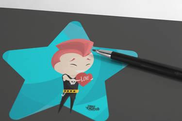 Punk mascot by JKakaroto