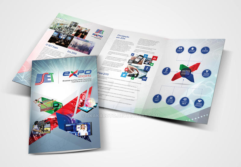 3x A4 Trifold Brochure by JKakaroto