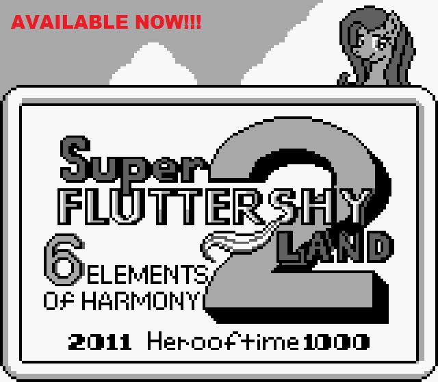 Super Fluttershy Land 2 by herooftime1000