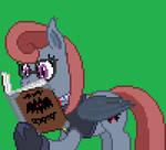 Cryptania: Monster Zoologist and Nerdy Bat Pony