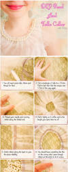How To Make A Cute Pearl Tulle Collar by VioletLeBeaux